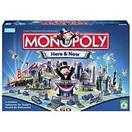 Monopoly board game - the Here & Now Edition.
