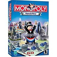 Monopoly Here & Now computer game.