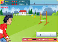 CLICK to play an online game of Ladder Golf!