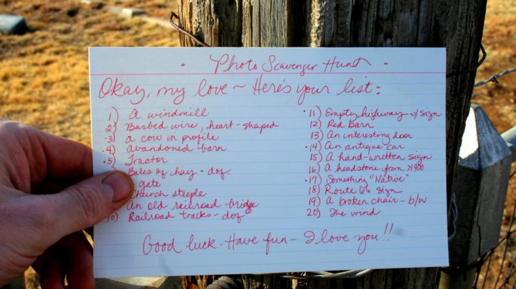 How To Plan A Scavenger Hunt: A Fun Adult Game To Play Outdoors (Or Indoors)